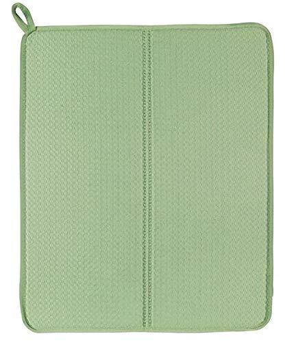 """Ikea Dish Drying Mat, Green, 44x36 cm (17 ¼x14 ¼"""")"""