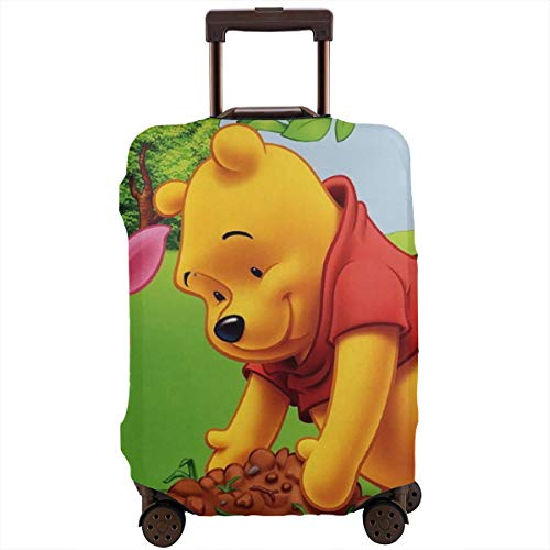 Travel Luggage Cover Winnie The Pooh Suitcase Protector Washable Baggage Covers 18-32 Inch