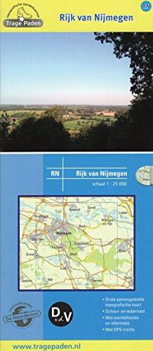 Topografische wandelkaart Rijk van Nijmegen: verken het landschap in de laagste versnelling