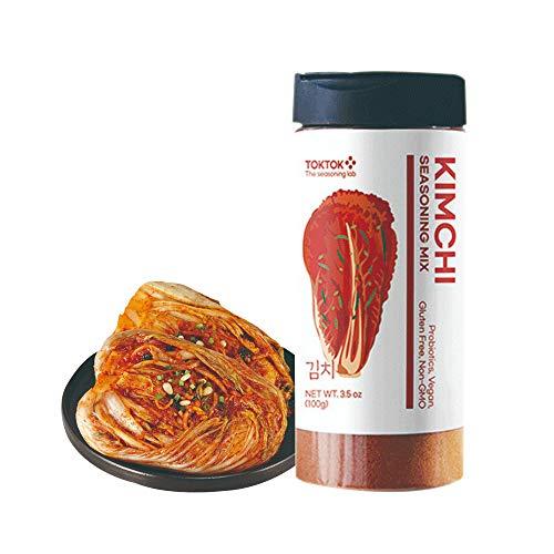 (2PCS) Korean Kimchi Powder Seasoning Mix Kimchi Toktok (3.5 oz)