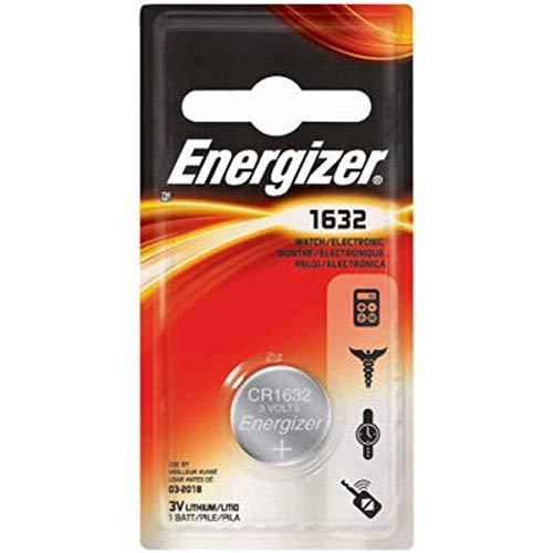 Energizer ECR1632BP 1632 Lithium Coin, 1 Pack Battery