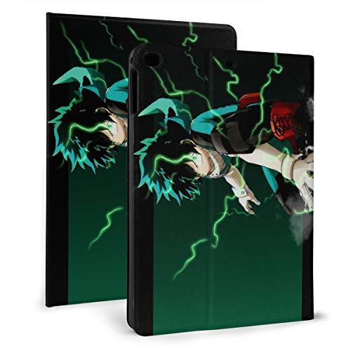 Japan My Hero Academia Midoriya Izuku iPad Case Auto Wake/Sleep, Suitable for iPad mini4/5 7.9'', iPad air1/2 9.7