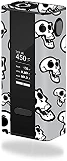 MightySkins Skin Compatible with JoyeTech Cuboid 150W TC – Laughing Skulls | Protective, Durable, and Unique Vinyl Decal wrap Cover | Easy to Apply, Remove, and Change Styles | Made in The USA