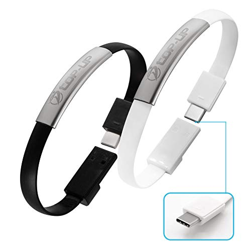 Top-Up Bracelet USB C Portable Charger   Short Micro USB 2A Fast...