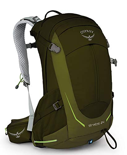 Osprey Stratos 24 Ventilated Hiking Pack Homme, Vert (Gator Green), Taille Unique