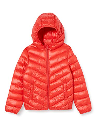 United Colors of Benetton 2RQ453IQ0 Giacca, Red 005, L Bambina