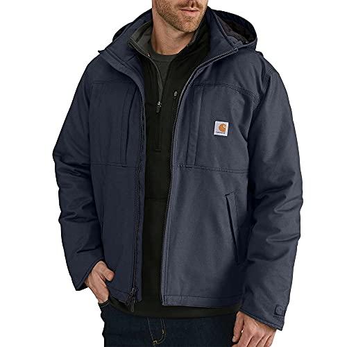 Carhartt Men's Full Swing Cryder Jacket (Regular and Big & Tall Sizes), Navy, Small
