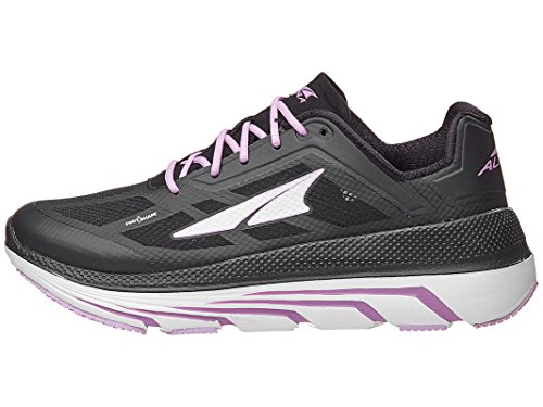 ALTRA Women's Duo Road Running Shoe, Black/Pink - 9 M US