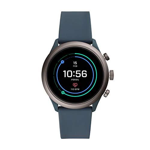 Smartwatch Da Uomo Fossil Con Cinturino In Silicone Ftw4021