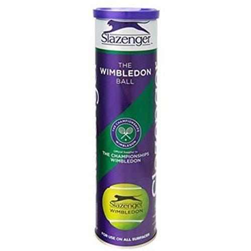 Slazenger Super Premium tejida la pelota de tenis Wimbledon grado unidades 4