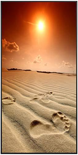 Ecowelle Infrarotheizung mit Bild | 750 Watt | 60x120 cm | Infrarot Heizung| | Made in Germany| d 2 Sonnenuntergang am Strand