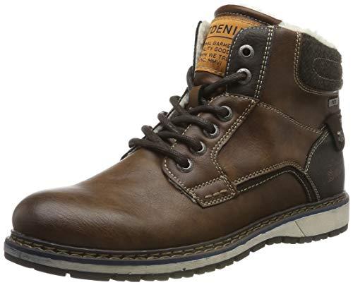 TOM TAILOR Herren 7985302 Klassische Stiefel, Braun (Cognac 00205), 42 EU