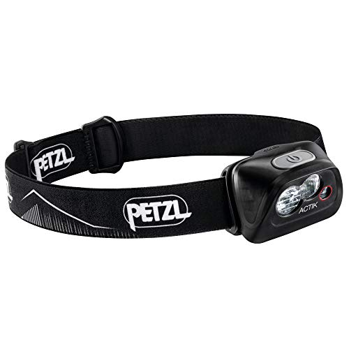 Petzl Unisex Adult's Actik Headlamp, Black, One Size