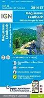 Haguenau.Lembach.PNR des Vosges du Nord 1:25 000