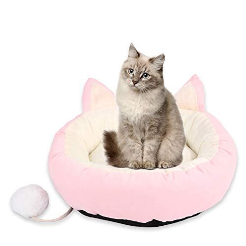 Nido para mascotas, inodoro, suave, antideslizante y antibacteriano, cama de galgo.