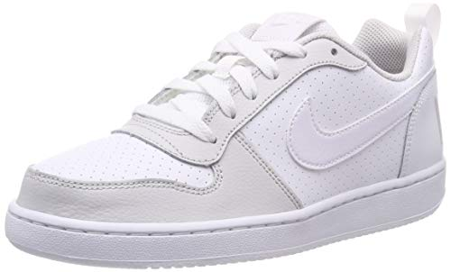 Nike Court Borough Low (GS), Zapatos de Baloncesto para Niños, Blanco White/Vapste Grey 104, 38 EU
