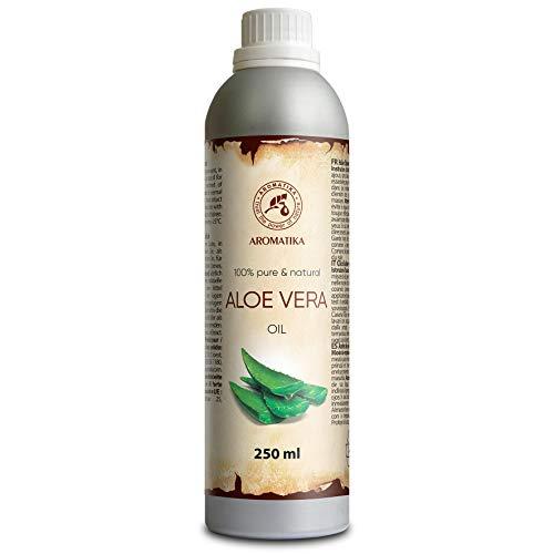 Aceite de Aloe Vera 250 ml - Aloe Barbadensis - Brasil - Piel - Aceite para cara y bebé - Aceites de Aloe Vera