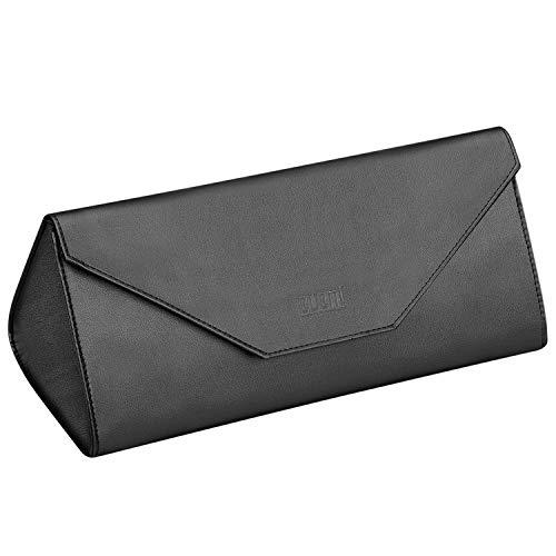 KEESIN Wasserdichter Aufbewahrungskoffer für Haartrockner, Tragbare Reisetasche aus PU Leder für Dyson Supersonic Haartrockner (Schwarz)