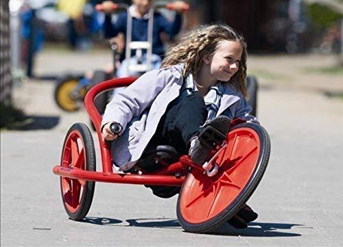 Viking Explorer U-Rider von Winther / Länge: 125 cm / Breite: 76 cm / Höhe: 58 cm / Sitzhöhe: ca. 27 cm / für Kinder von 6-10 Jahren geeig