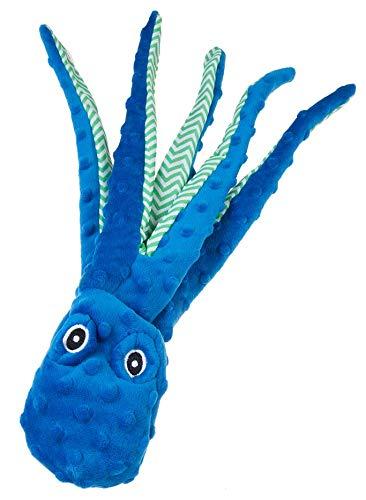 GimDog Extreme Octopus Gioco per Cani con Squeak, Pupazzo Polipo con doppio strato senza imbottitura interna 41 cm