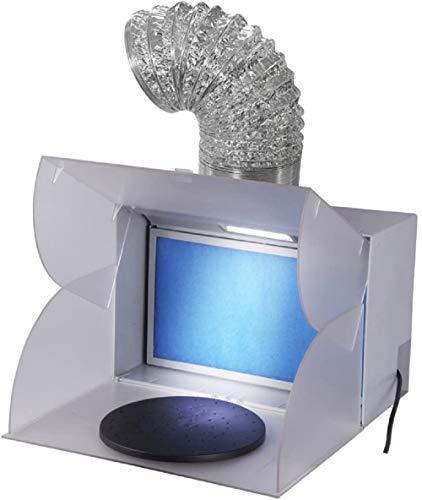 FENGDA BD-512 Airbrush Absauganlage mit integriertem LED-Licht