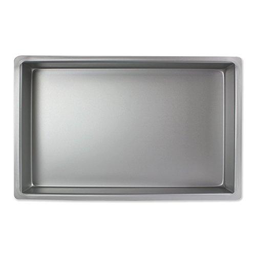 PME Molde para Pastel Rectangular de Aluminio Profundidad de 7 x 11 x 2-Pulgadas