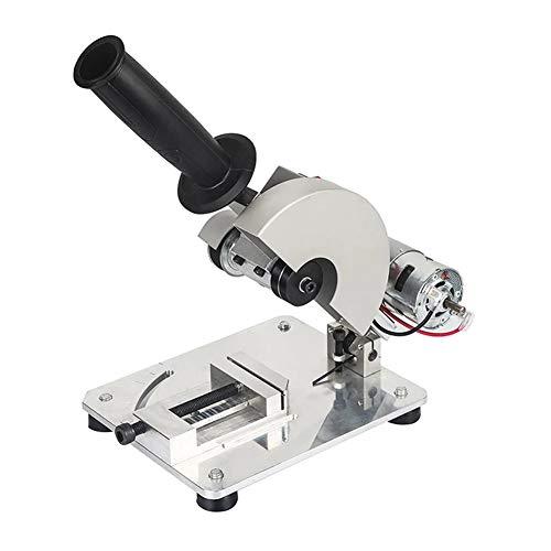 Sierra de mesa, Herramientas eléctricas multifuncionales Guía ángulo sierra mesa 795 Máquina cortadorahusillo, DC12-24V, 9000RPM, ángulo ajustable de 45 grados, Corte de múltiples materiales