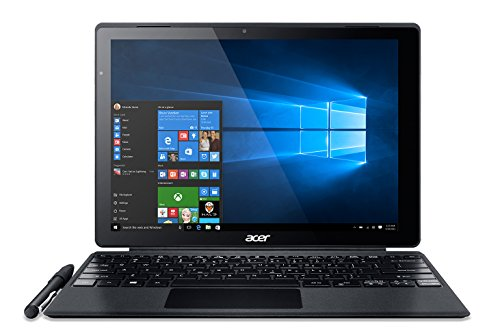 Acer Aspire Switch Alpha 12 SA5-271 12 inch QHD IPS Touchscreen Detachable 2-in-1 Laptop (Intel Core i3-6100, 4 GB RAM, 128 GB SSD, Windows 10) - Silver