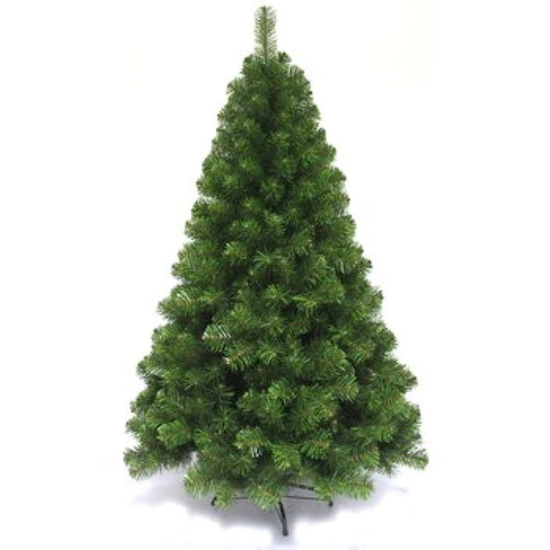 基礎凶暴な志すFunderful 180cmクリスマスツリー(グリーンヌードツリー)
