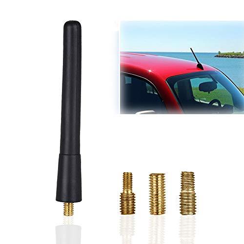 Autoantenne, KFZ Kurzstab Dachantenne für optimalen AM/FM-Empfang, Kurzstabantenne universell für KFZ PKW LKW und weitere, Dachantenne mit erstklassiger Empfangsqualität