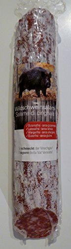 250 gr. Südtiroler Wildschweinsalami aus dem Vinschgau vom Metzger keine Industrieware