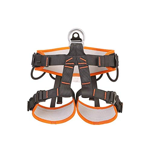 zvcv Climbing Harness Belt Thicken Rock Climbing Harness For High Mountaineering Fire Rescuing Rock Climbing Rappelling