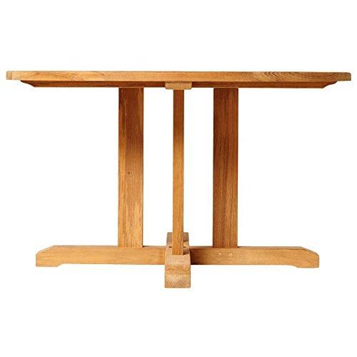 Traditional Teak Tisch William D130cm