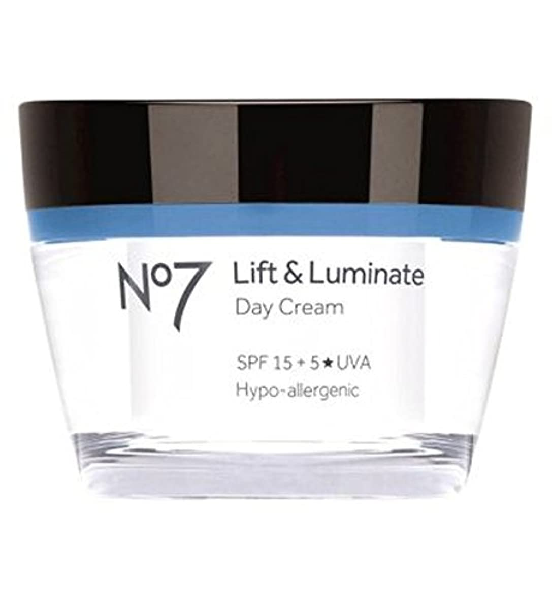 ソースパッケージ最大No7 Lift & Luminate Day Cream SPF 15 - No7リフト&LuminateデイクリームSpf 15 (No7) [並行輸入品]