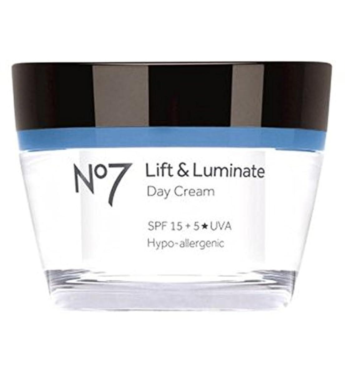 義務的地下昼食No7 Lift & Luminate Day Cream SPF 15 - No7リフト&LuminateデイクリームSpf 15 (No7) [並行輸入品]