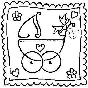 Art Stamps stempel voor kinderwagen, baby
