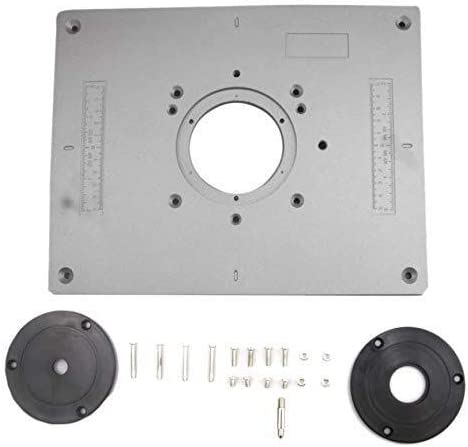 JKCKHA Luminum Router Table Insert Trim Universa Inexpensive Product Panel Plate The