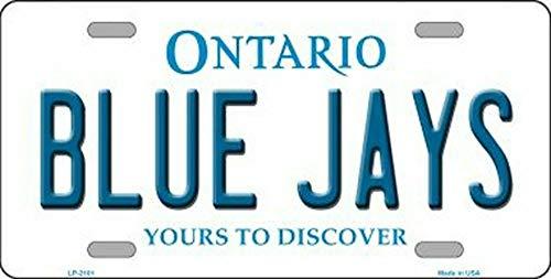 MNUT Blue Jays Ontario Canada Nummernschild 15,2 x 30,5 cm