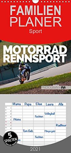 Motorrad Rennsport - Familienplaner hoch (Wandkalender 2021, 21 cm x 45 cm, hoch)
