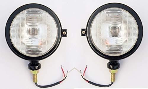 Set di 2 lampade per trattore New Mahindra, colore nero, (LH & RH) 0403