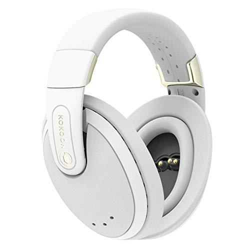Kokoon - Cuffie per dormire, senza fili, con protezione dal rumore, perfette per andare a dormire, viaggi e meditazione - App per musica e audio consapevolezza, colore: Grigio