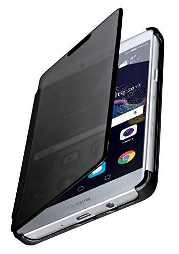 MoEx® Coque Fine Compatible Huawei P8 Lite 2017 | Laisse Voir l'écran/Style laqué, Anthracite