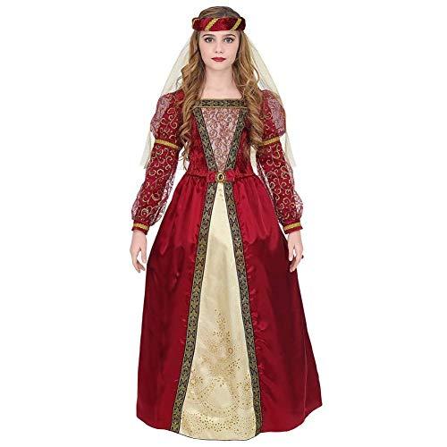 WIDMANN Disfraz de Princesa Medieval Aisa para niña M-(8/10 años)