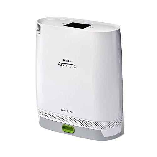 Philips SauerstoffkonzentratorSimplyGo Mini, Sauerstoffgerät, Beatmungsgerät, mobil, klein, leicht 2,3 kg, inkl. Tasche