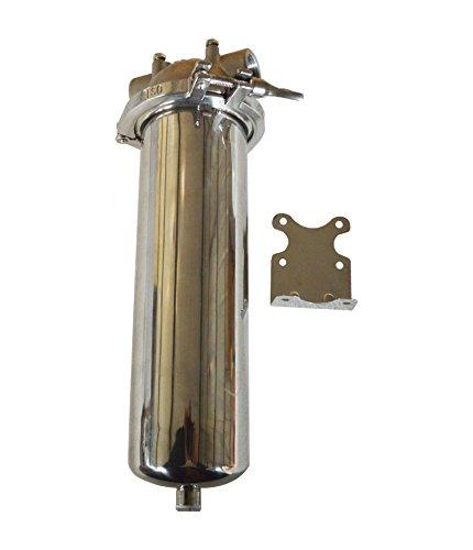TECHTONGDA Corrosion-Resistant 304 Stainless Steel 10KG Pressure Filter Housing for 10