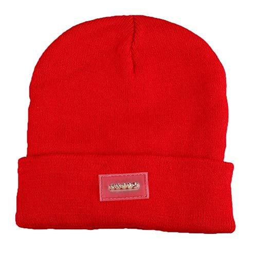 Dames mutsen gebreid warm hoed warm unisex beanie chic hoed koplamp klimmen joggen auto reparatie camping petten