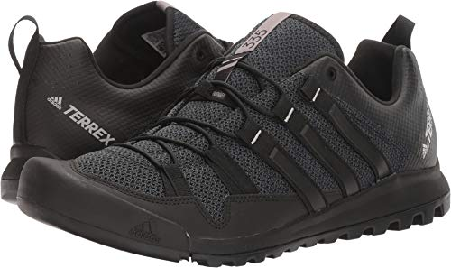 adidas Sport Performance Men's Terrex Solo Hiking Sneakers, Black Textile,...