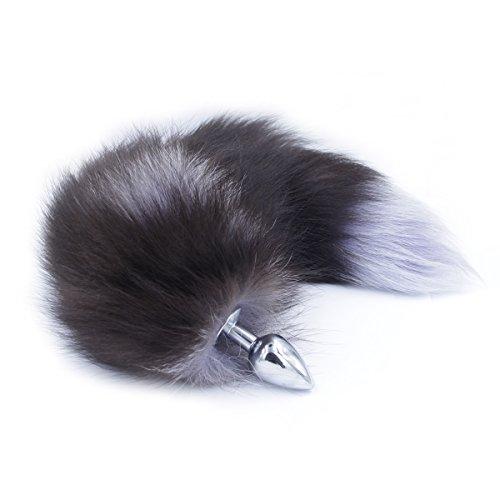 Stahl Schwanz Plug fuchsschwanz Katze, Hinternplug für manner,frauen