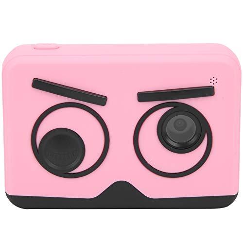 SONK Cámara para niños, cámara de Video con Pantalla IPS Mini Lente electrónica de Regalo de 20 MP con Correa antipérdida para Grabar Videos para Tomar Fotos(Pink)
