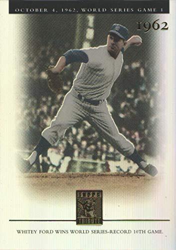 2003 Topps Tribute Baseball World Series #142 Whitey Ford FC